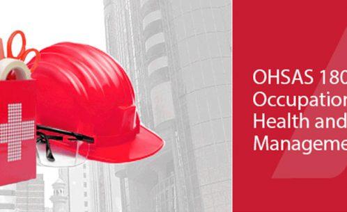 18001 OHSAS Certificate